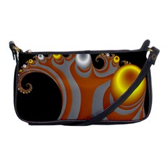Classic Mandelbrot Dimpled Spheroids Shoulder Clutch Bags