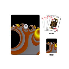 Classic Mandelbrot Dimpled Spheroids Playing Cards (mini)