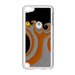 Classic Mandelbrot Dimpled Spheroids Apple iPod Touch 5 Case (White)