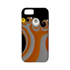 Classic Mandelbrot Dimpled Spheroids Apple iPhone 5 Classic Hardshell Case (PC+Silicone)