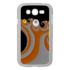Classic Mandelbrot Dimpled Spheroids Samsung Galaxy Grand Duos I9082 Case (white)