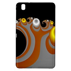 Classic Mandelbrot Dimpled Spheroids Samsung Galaxy Tab Pro 8 4 Hardshell Case