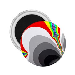 Background Image With Color Shapes 2 25  Magnets