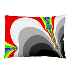 Background Image With Color Shapes Pillow Case