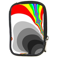 Background Image With Color Shapes Compact Camera Cases