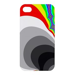 Background Image With Color Shapes Apple Iphone 4/4s Hardshell Case