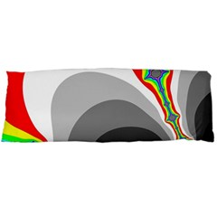 Background Image With Color Shapes Body Pillow Case (Dakimakura)