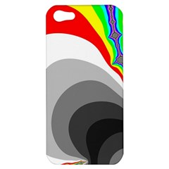 Background Image With Color Shapes Apple Iphone 5 Hardshell Case