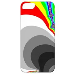 Background Image With Color Shapes Apple Iphone 5 Classic Hardshell Case