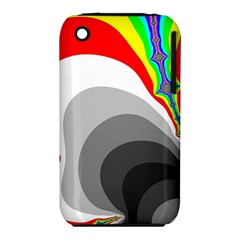 Background Image With Color Shapes iPhone 3S/3GS