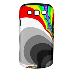 Background Image With Color Shapes Samsung Galaxy S III Classic Hardshell Case (PC+Silicone)