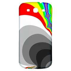 Background Image With Color Shapes Samsung Galaxy S3 S Iii Classic Hardshell Back Case