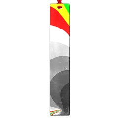 Background Image With Color Shapes Large Book Marks