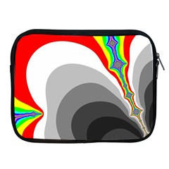 Background Image With Color Shapes Apple Ipad 2/3/4 Zipper Cases