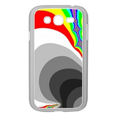 Background Image With Color Shapes Samsung Galaxy Grand DUOS I9082 Case (White)