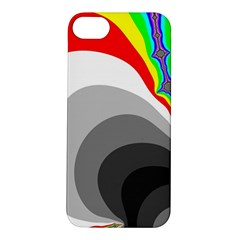 Background Image With Color Shapes Apple iPhone 5S/ SE Hardshell Case