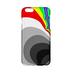 Background Image With Color Shapes Apple Iphone 6/6s Hardshell Case