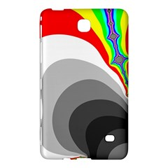 Background Image With Color Shapes Samsung Galaxy Tab 4 (7 ) Hardshell Case