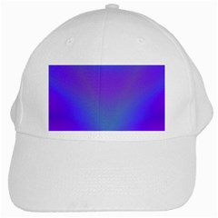 Violet Fractal Background White Cap