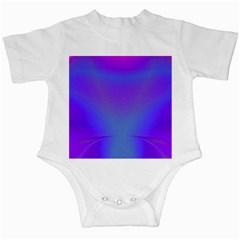 Violet Fractal Background Infant Creepers