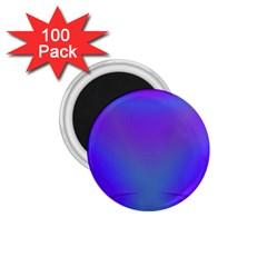 Violet Fractal Background 1 75  Magnets (100 Pack)