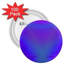 Violet Fractal Background 2 25  Buttons (100 Pack)