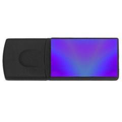 Violet Fractal Background Usb Flash Drive Rectangular (4 Gb)