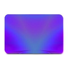 Violet Fractal Background Plate Mats