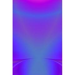 Violet Fractal Background 5 5  X 8 5  Notebooks