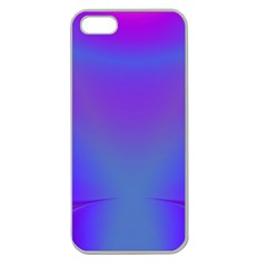 Violet Fractal Background Apple Seamless iPhone 5 Case (Clear)