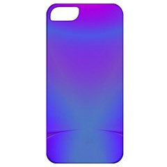 Violet Fractal Background Apple iPhone 5 Classic Hardshell Case