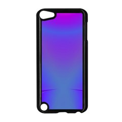 Violet Fractal Background Apple Ipod Touch 5 Case (black)
