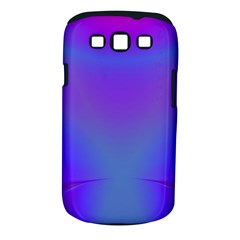 Violet Fractal Background Samsung Galaxy S III Classic Hardshell Case (PC+Silicone)
