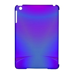 Violet Fractal Background Apple iPad Mini Hardshell Case (Compatible with Smart Cover)