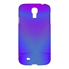 Violet Fractal Background Samsung Galaxy S4 I9500/i9505 Hardshell Case