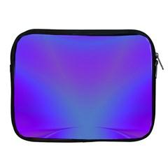 Violet Fractal Background Apple iPad 2/3/4 Zipper Cases