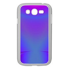 Violet Fractal Background Samsung Galaxy Grand DUOS I9082 Case (White)