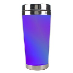 Violet Fractal Background Stainless Steel Travel Tumblers