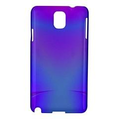 Violet Fractal Background Samsung Galaxy Note 3 N9005 Hardshell Case
