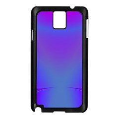 Violet Fractal Background Samsung Galaxy Note 3 N9005 Case (Black)