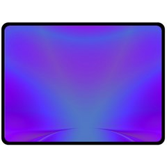 Violet Fractal Background Double Sided Fleece Blanket (Large)