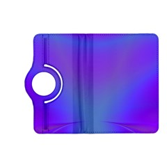 Violet Fractal Background Kindle Fire HD (2013) Flip 360 Case