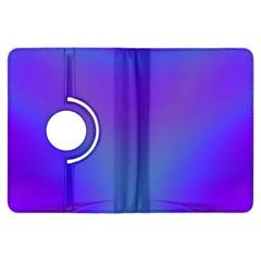 Violet Fractal Background Kindle Fire HDX Flip 360 Case