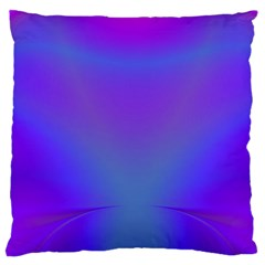 Violet Fractal Background Standard Flano Cushion Case (two Sides)