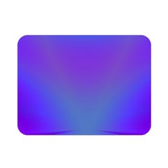 Violet Fractal Background Double Sided Flano Blanket (mini)
