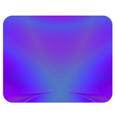 Violet Fractal Background Double Sided Flano Blanket (medium)