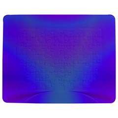 Violet Fractal Background Jigsaw Puzzle Photo Stand (rectangular)