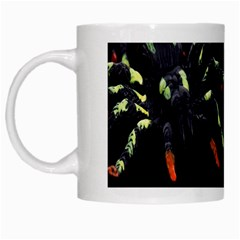 Colorful Spiders For Your Dark Halloween Projects White Mugs