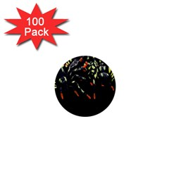 Colorful Spiders For Your Dark Halloween Projects 1  Mini Buttons (100 Pack)