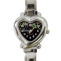 Colorful Spiders For Your Dark Halloween Projects Heart Italian Charm Watch